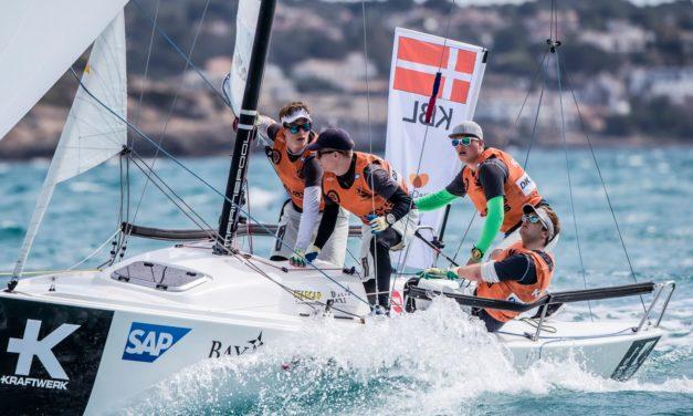 Kaløvig Cobras tog føringen i årets Sailing Champions League