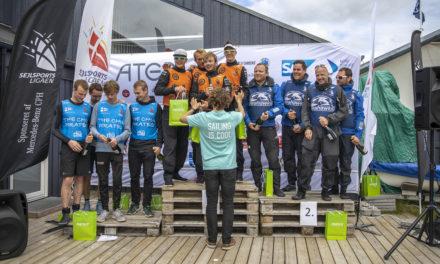 Kaløvig Cobras tog første stik i Sejlsportsligaens 1. division