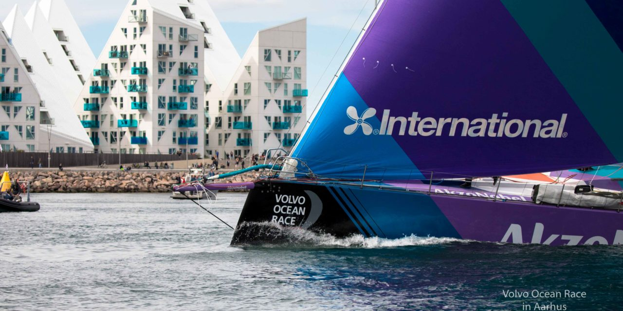 Konkurrencetid: Margit vinder fed oplevelse på Ocean Race-båd