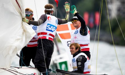 Sailing CL: Kaløvig er verdens 3. bedste klubhold efter CL-bronze i St. Moritz