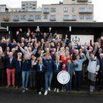 Over 100 sejlere hyldede VM-heltene i Aarhus Sejlklub