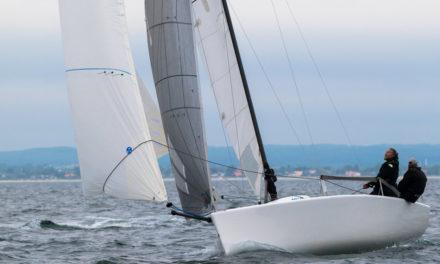 Egå-sejlere i Melges 24'er var hurtigst i Kaløvigs 'De 2 Øer'