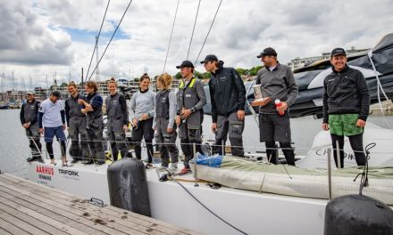 Childhood1 tilbagelagde ny Round Denmark Race-rute på 70 timer og 6 minutter