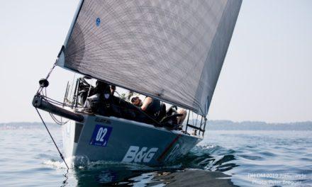 Ingen ny Round Denmark Race-rekord til Hansen Sailing Team