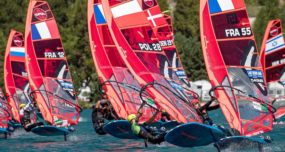 Tre danskere i top-50 ved EM i iQFOiL – fem danskere gennemførte