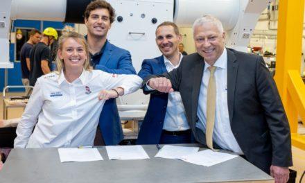 Nacra-sejlerne Lin og CP forlænger sponsoraftale frem til OL i 2021
