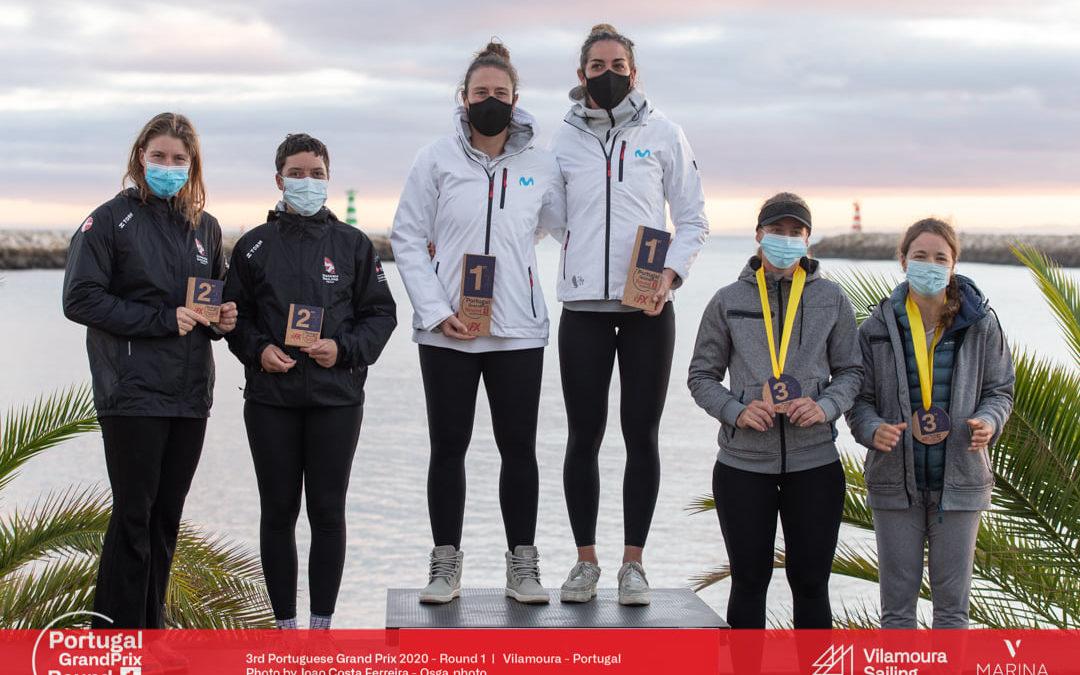 Baad og Thusgaard snuppede sølv ved træningsstævne i Vilamoura