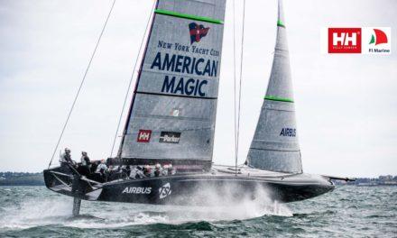 Sailing Aarhus-partner med magisk AC75'er i America's Cup-opløb