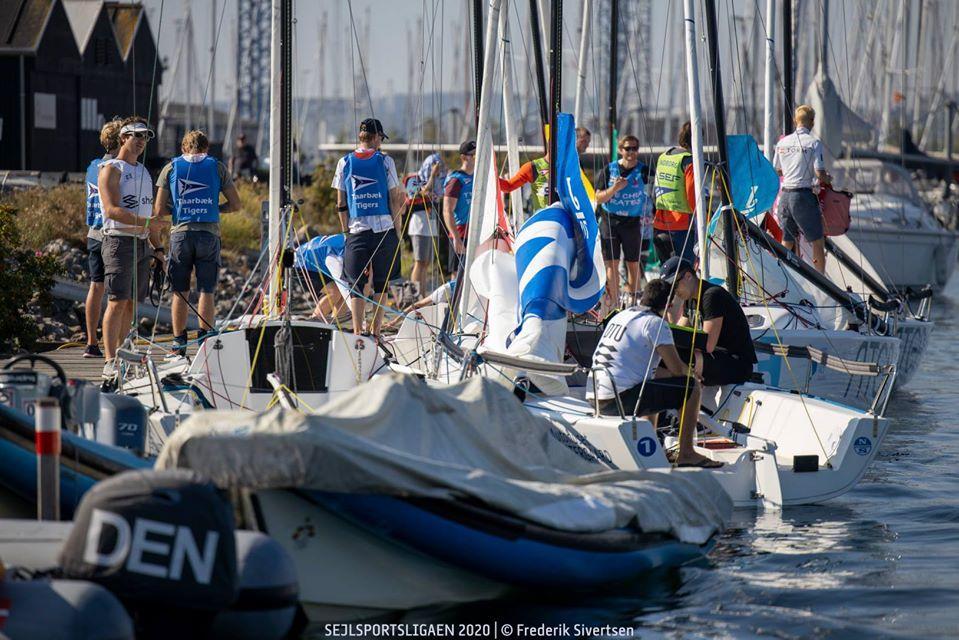 Sejlsportsliga-sæsonen slutter med finale i Aarhus under Sailing Week