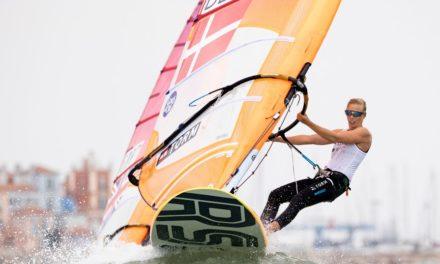Lærke Buhl-Hansen sikrede 9. plads ved VM i RS:X – nu gælder det OL