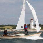 Hattrick af folkebåden Søsvalen efter DH-sejr i AFI 2Star Race