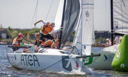 Kaløvig Cobras sejrede i årets andet stævne i Sejlsportsligaen