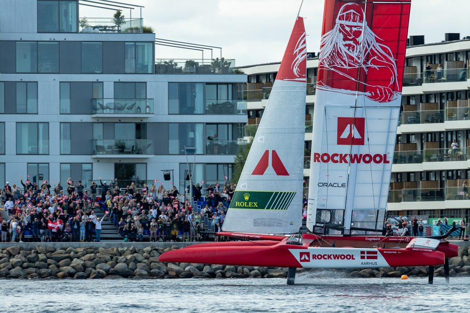 Australsk sejr under svære forhold i ROCKWOOL Denmark SailGP