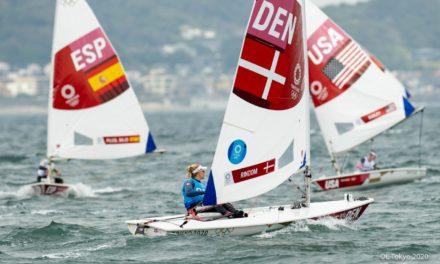 OL-guld til Anne-Marie Rindom efter topdramatisk Laser-finale