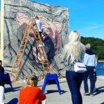 Street art flytter fra vandkanten til skovbrynet i Kongelunden