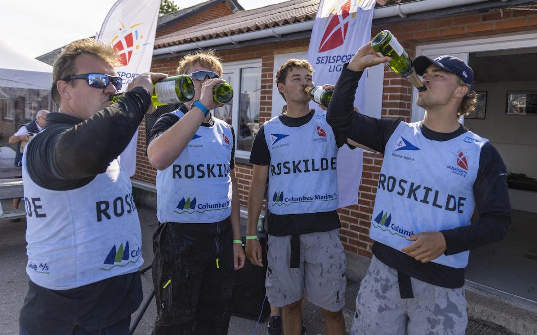 Sejlsportsligaen kårer ny Danmarksmester i Aarhus i weekenden