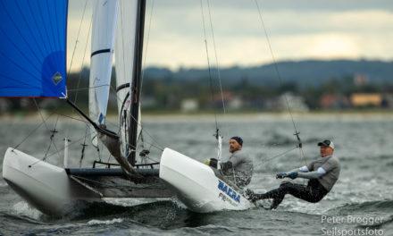 Nørregaard sejrede under finsk flag ved storrost F18 NM-stævne i Aarhus
