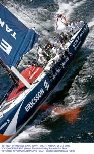 Rasmus Køstner (ÅSK) sejler InPort Volvo Ocean Race i Singapore