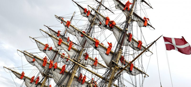Aarhus vært for The Tall Ships Races 2019...