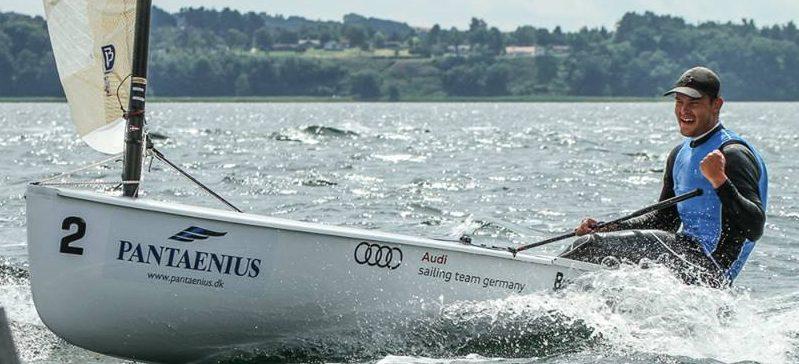 Phillip Kasüske (GER) verdensmester Finnjolle U23 i Aarhus