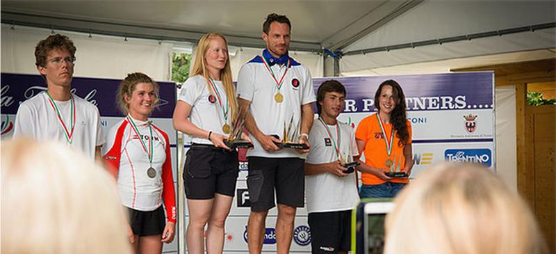 Tre medaljer til Kaløvig ved Europajollernes VM...