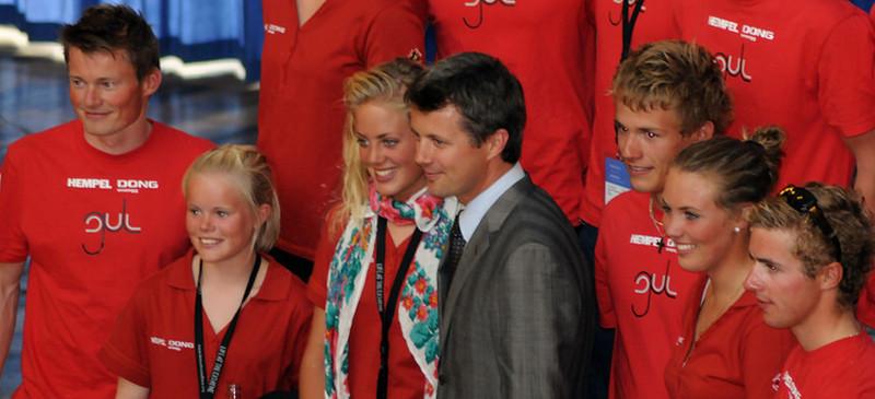 H.K.H. Kronprins Frederik bliver protektor for VM i sejlsport i Aarhus..