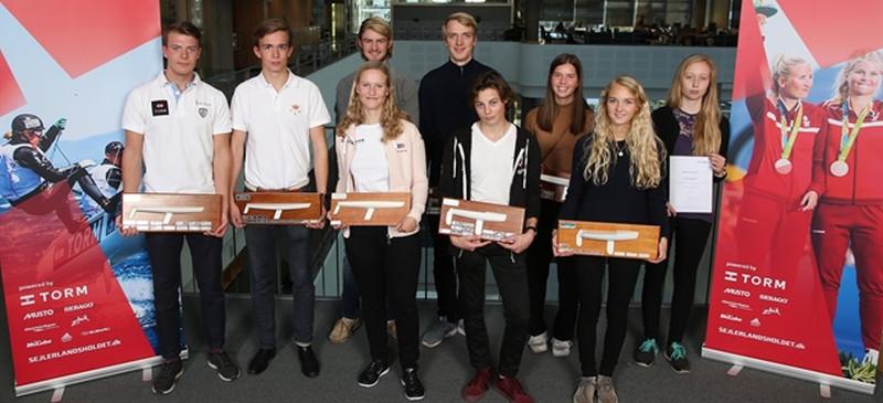 Aarhusianske TORM GP vindere hædret ....