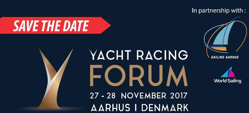Husk at tilmelde dig til Yacht Racing Forum 2017 - sejlsportens konference i Aarhus..
