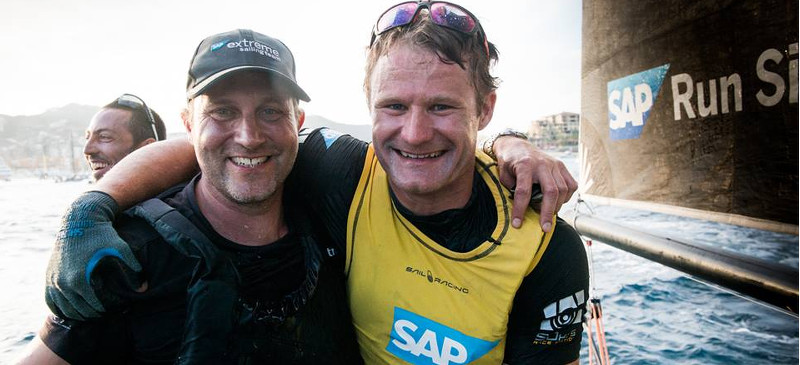 SAP Extreme Sailing Team vinder Extreme Sailing Series 2017 !!!