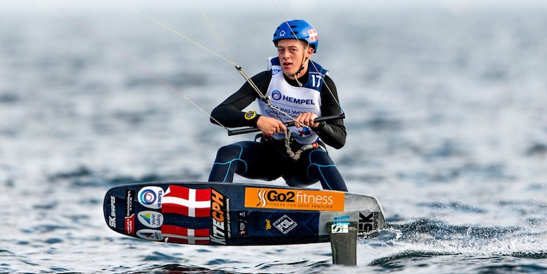 DM i kite racing sejles 15-16. september i Århus-bugten.